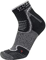 GORE BIKE WEAR ALP-X Socks Calzini da Mountain Bike, Resistenti, GORE Selected Fabrics, 41-43, Nero/Bianco
