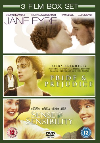 Jane Eyre (2011) / Sense and Sensibility (1996) / Pride and Prejudice (2005) - Triple Pack [DVD] by Mia Wasikowska