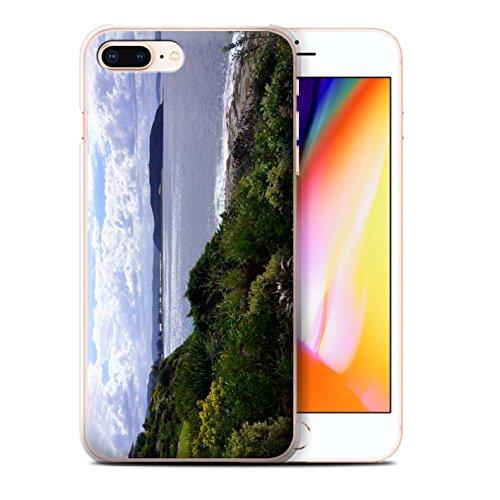 Stuff4 Hülle / Case für Apple iPhone 8 Plus / Rotes Boot Muster / Britischen Küste Kollektion Küste