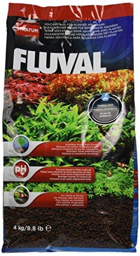 Fluval Stratum vulkanischer Bodengrund für bepflanzte oder Garnelen-Aquarien 4kg Pflanzenaquarien