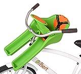Sillita delantera iBERT para bicicleta -color VERDE