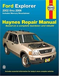 Ford Explorer 2002 thru 2006: Includes Mercury Mountaineer (Haynes Repair Manual) by Ken Freund (2007-11-15)