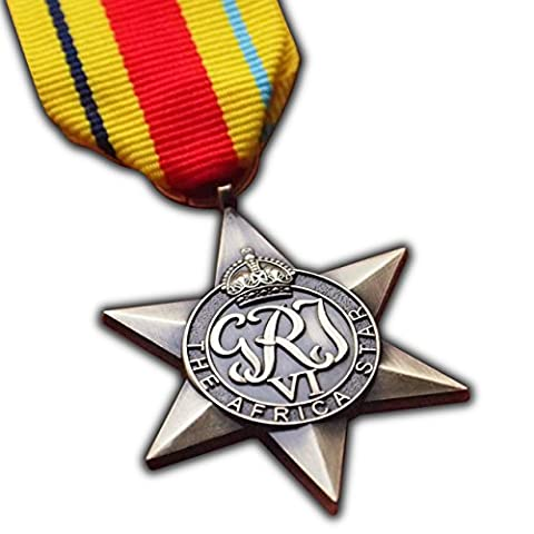 The Africa Star Military Medal WW2 Commonwealth British Military Award