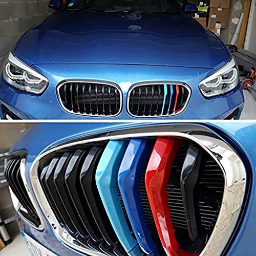 KIMISS 2 pièces Couverture de Volant Décoration Dintérieur deVoiture pour F20 F22 F30 F32 F10 F06 F15 F16 Modèle de carbone Accessoires auto