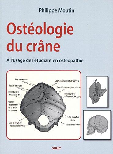 Ostéologie du crâne : A l'usage de l'étudiant en ostéopathie
