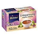 Meßmer Entspannung Hopfen-Melisse 20 TB, 5er Pack (5 x 40 g)