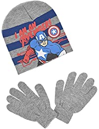 Bonnet et gants enfant garçon Les Avengers 3 coloris de 3 à 9ans
