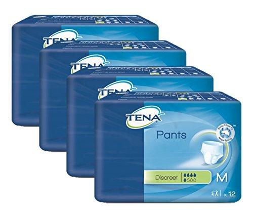 Tena Pants Discreet Medium 75-100 Cm Einweghose 4X12 St by Tena