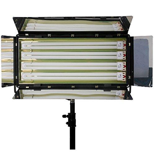 1100W Pro Fluorescent Light 4 Bank kontinuierliche Beleuchtung Daylight osram Rohr - Panel LAMP Kinoflo Typ - F & V Kino Flo 4-bank