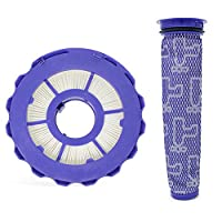 Biback HEPA Post-Motor Filter/Pre-Motor Filter Compatible for Dyson DC40 Animal, Multi Floor and Ball Vacuums