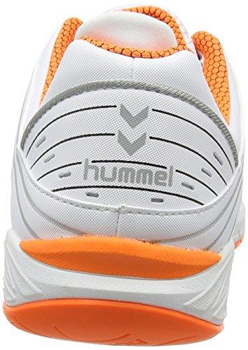 hummel HUMMEL OMNICOURT Z6 Unisex-Erwachsene Hallenschuhe Weiß (White 9001)