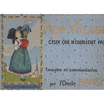 HANSI MON VILLAGE CEUX QUI N'OUBLIENT PAS 1913