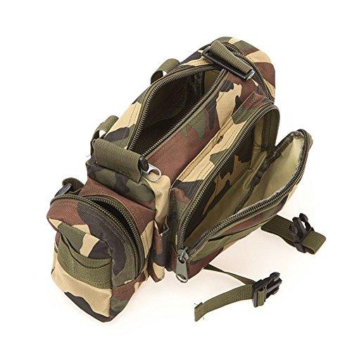 D9Q militärischen Angriff Combined Rucksack Rucksäcke Sport Camping Travel Umhängetasche !! Stil A
