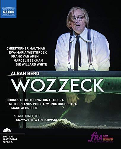 Preisvergleich Produktbild Alban Berg: Wozzeck (Amsterdam 2017) [BluRay] [Blu-ray]