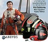 Anovos Abysse Corp_REPANO009 Star Wars - Casco piroriano de protección, réplica 1:1 X1, Multicolor