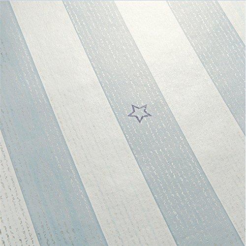 Zhzhco Selbstklebende Pvc-Tapeten, Tapete Hintergrundbild Klebstoff Wasserfest Schlafzimmer Wohnzimmer 10 M Installiert Ist