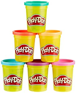 Play-Doh Hasbro c3897eu46Pack Bright Colors, plastilina