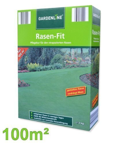 move Rasen-Fit - sattgrüner Rasen in wenigen Tagen 3kg = 100m²