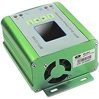 Dailyinshop MPT-7210A LCD Display MPPT Solar Panel Batterie Laderegler 10A 48 V Boost (Farbe: Grün)