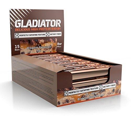 Bars Nu Protein (Olimp Baton Gladiator Vanille, 12 Stück)