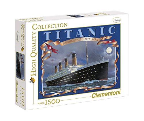 Clementoni - 31960 - Puzzle Collezione Alta qualità Titanic, 1500 Pezzi