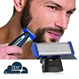 Brezzycloud Hyper-Advanced RechargeableBody Hair and Beard Remover ABS Stainless Steel Blade Trimmer