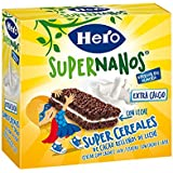 Hero Supernanos Barritas Leche Choco - Paquete de 4 x 30 g - Total: 120 g
