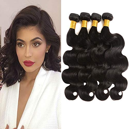 Human Hair Weaves Humble Wome Human Hair Bundles Indian Body Wave Hair Bundles Dark Brown Color #2 Non Remy Hair Extensions 10-24 Free Shipping