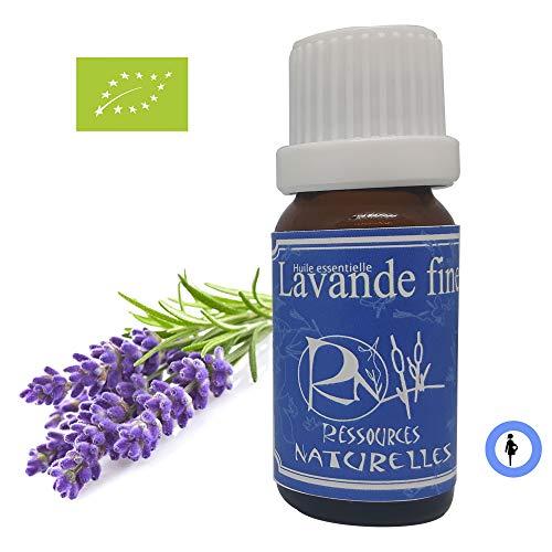 Ressources Naturelles - Huile Essentielle Lavande Fine Bio de Provence 10 Ml