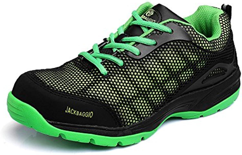 Zapatos De Senderismo Hombres Impermeables De Cuero Ligero Respirable Informal De Seguridad Zapatos De Protección