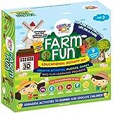 Genius Box Learning Toys for Children - Farm Fun Activity Kit, Multi Color