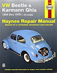 VW Beetle & Karmann Ghia 1954 through 1979 All Models (Haynes Repair Manual) by Ken Freund (1991-08-02)