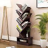 MOMO Einfaches modernes Bücherregal-Bücherregal-Regal, das kreative Baum-Form mit Fach landet,7 Etagen,* 1 *