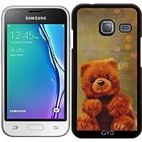 Custodia per Samsung Galaxy J1 Mini (SM-J105) - Orsacchiotto Di Peluche by Andrea (Mixed Brown Peluche)