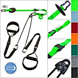 eaglefit® Sling Trainer exclusive; Umlenkrolle, Deckenbefestigung, Türanker; TESTSIEGER