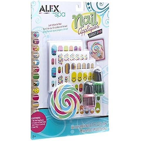 ALEX Spa Nail Appliques Sweet Pop by ALEX Toys