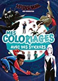 SPIDER-MAN NEW GENERATION - Mes coloriages avec stickers...