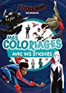 SPIDER-MAN NEW GENERATION - Mes coloriages avec stickers par Hachette