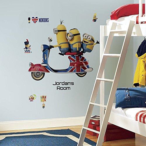 RoomMates Minions Peel & Stick Wall Décor Set -