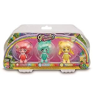 Glimmies - Serie 2 Blister 3 Figuras Loupiana, Conexia y Honeymia (Giochi Preziosi GLN02110)
