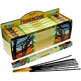Tulasi FrankIncense Incense, 8 Sticks x 25 Packs