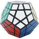 Shengshou Megaminx Black/White Speed Cube (Color May Vary)