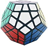 #4: Shengshou Megaminx Black/White Speed Cube (Color May Vary)