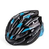 INBIKE 24Vents Fahrradhelm Specialized Fahrrad Helm Ultra Light EPS Atmungsaktiv Sicher Helm für Frauen und Herren Jungen Mädchen, Blau/Schwarz