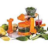Stylelime Quality Products Master Fruit And Vegetable Juicer   Manual Juicer With Steel Handle   Plastic Hand Juicer   Fruit & Vegetable Juicer Hand Machine   Hand Juicer Press Without Electricity With Strong Vacuum   Power Free Hand Juicer For Home &