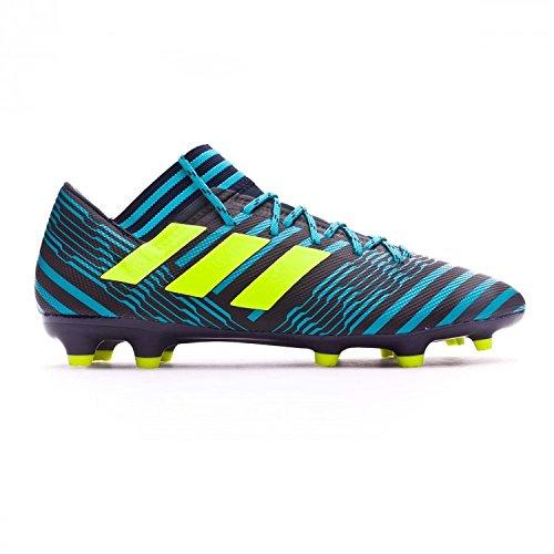 adidas Nemeziz 17.3 Fg, Zapatillas de Fútbol para Hombre, Multicolor (Legend Ink /Solar Yellow/Energy Blue), 42 2/3 EU