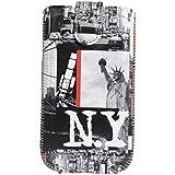 Omenex Akashi Housse pour Téléphone Portable Taille L Motif NYC