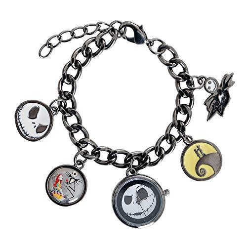 e Disney Die Alptraum vor Weihnachten Watch Charm Bracelet ()