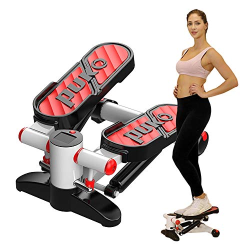 K-Y Stepper Aerobic Fitness Stepper, Seilübungen, einstellbare Übungsstepper, Fitnessgeräte for zu Hause, Unisex - Hometrainer