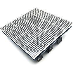 AptoFun MAX7219 Mcu - Panel LED para Arduino (16 en 1, 32 x 32 cm)
